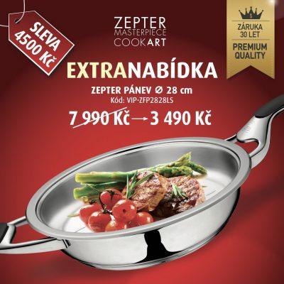 Zepter pánev - akční cena