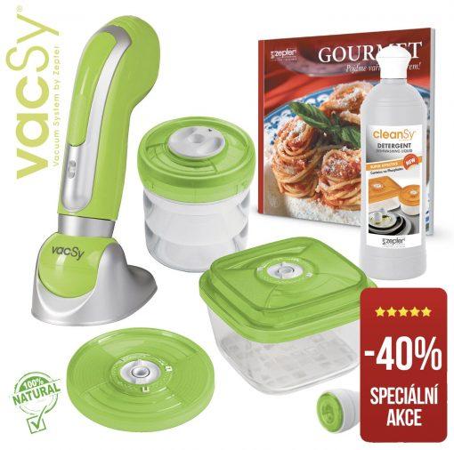 Vakuové balení potravin VACSY® BASIC