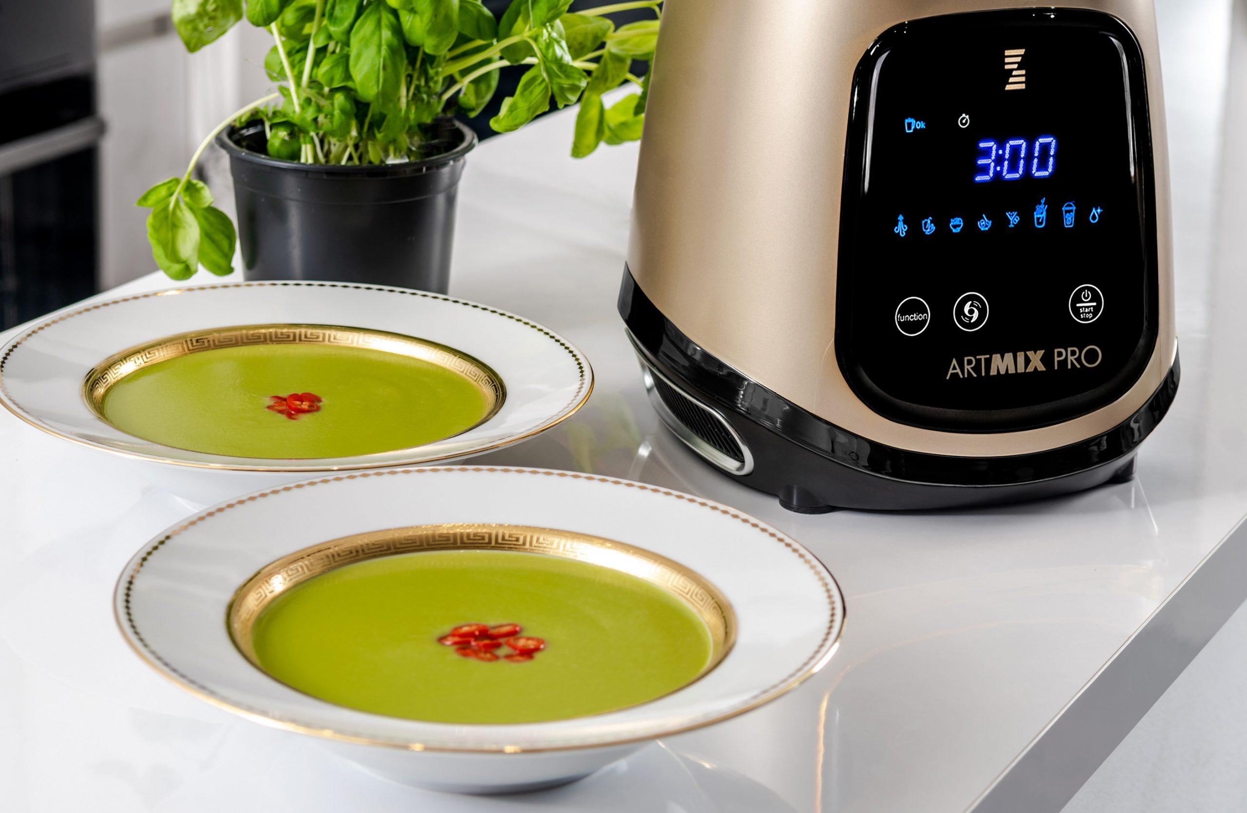 Recept na nejlepší polévku získáte spolu s varným mixérem ARTMIX PRO