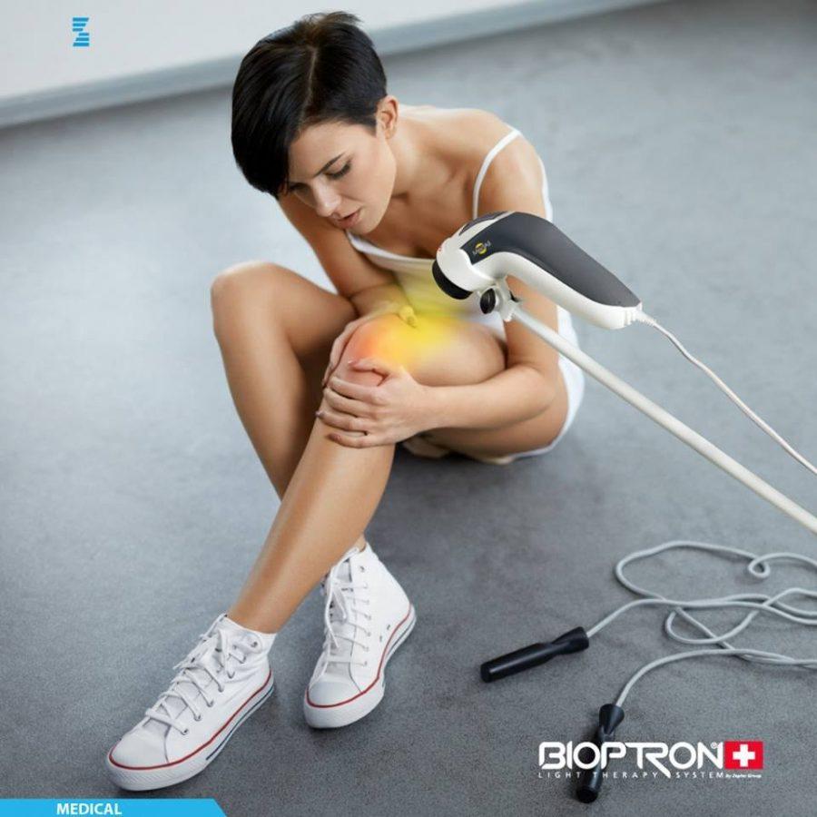 Bioptron pomáhá při úrazech a sportu