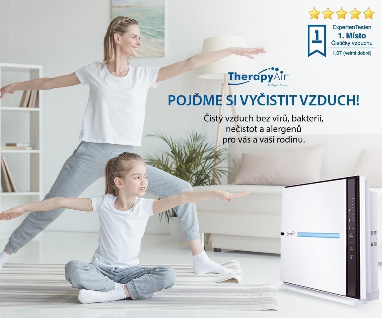 čistička vzduchu Therapy Air iOn od společnosti Zepter