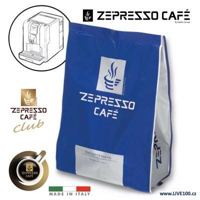KÁVOVÉ KAPSLE ZEPRESSO CAFE - DECAFFEINATO