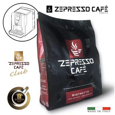 KÁVOVÉ KAPSLE ZEPRESSO CAFE - RISTRETTO