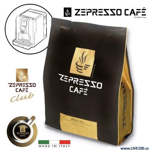 KÁVOVÉ KAPSLE ZEPRESSO CAFE - ROYAL