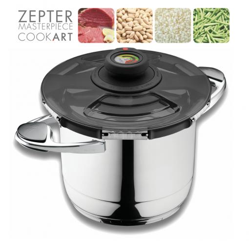 Zepter Syncro Clik pro nejrychlejší vaření