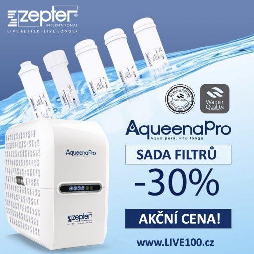 SADA FILTRŮ pro čističku vody ZEPTER AQUEENAPRO