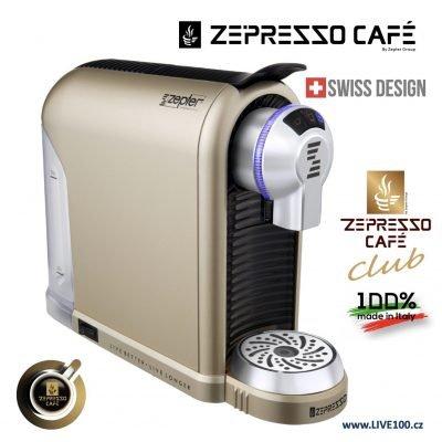 KÁVOVAR ZEPTER ZEPRESSO CAFE TREND GOLD
