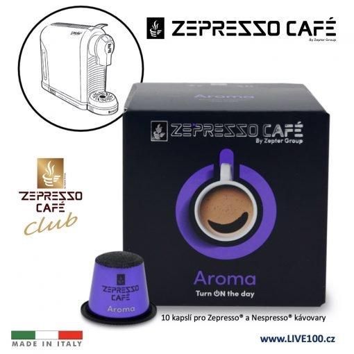 KÁVOVÉ KAPSLE ZEPTER ZEPRESSO CAFE - AROMA