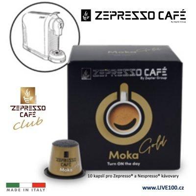 KÁVOVÉ KAPSLE ZEPTER ZEPRESSO CAFE - MOKA GOLD