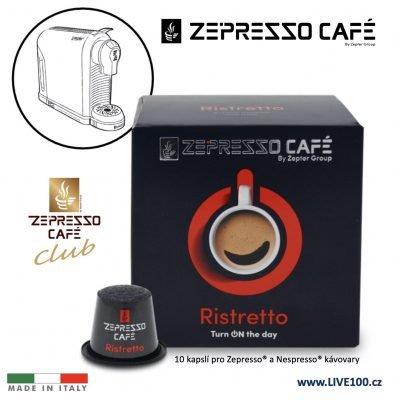 KÁVOVÉ KAPSLE ZEPTER ZEPRESSO CAFE - RISTRETTO
