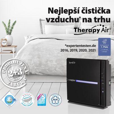 Nejlepší čistička vzduchu na trhu Therapy Air Ion Black