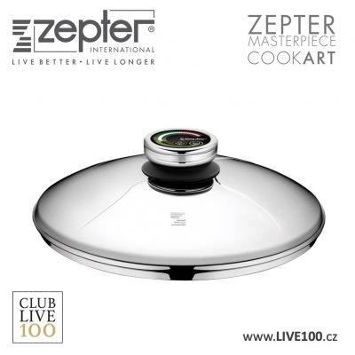 Zepter poklice průměr 20 cm s termokontrolem