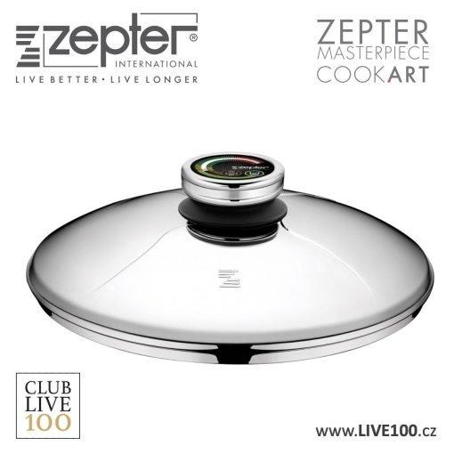 Zepter poklice průměr 24 cm s termokontrolem