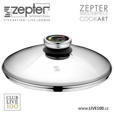 Zepter poklice průměr 28 cm s termokontrolem