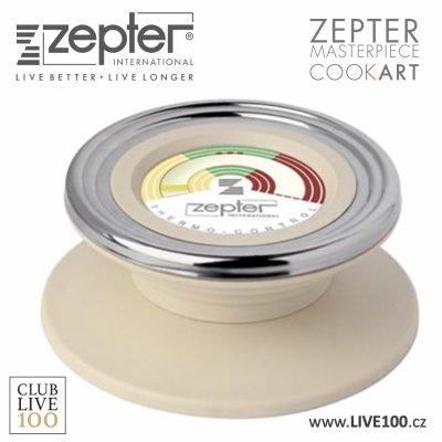 Zepter termokontrol analogový ve žlutém dvory provedení pro nejrozšířenější generaci nádobí Zepter v našem e-shopu náhradní díl za nejnižší ceny