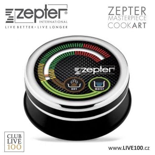 Zepter termokontrol analogový v nejnovějším designu, větší, přehlednější, vhodný na všechny generace Zepter hrnců a pánví
