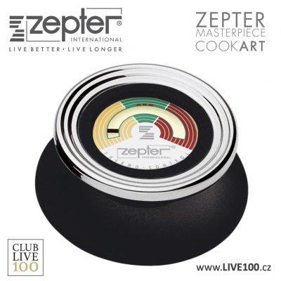 Náhradní díl k Zepter nádobí - knoflík na pokličku černý analogový termokontrol